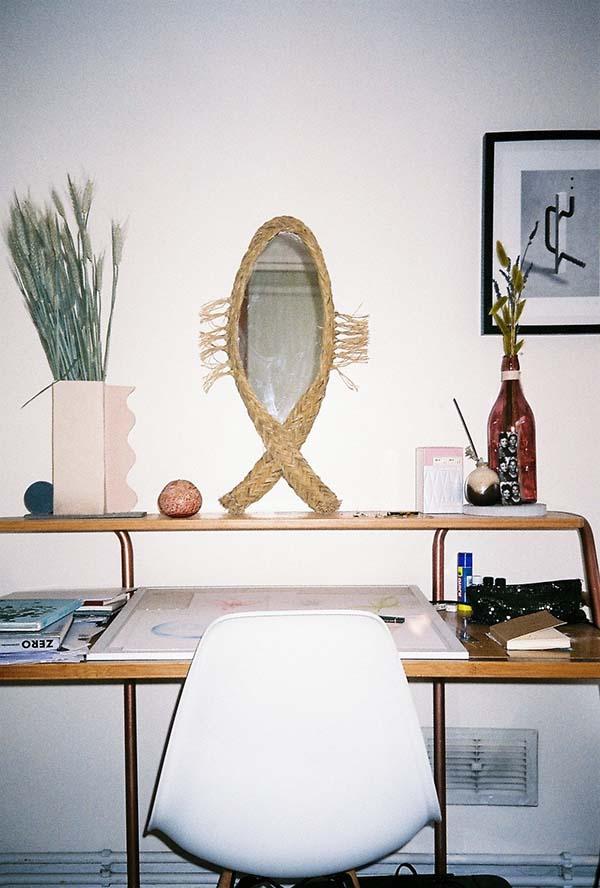Charlotte's studio. Photo, Delilah Olson © DATEAGLE ART
