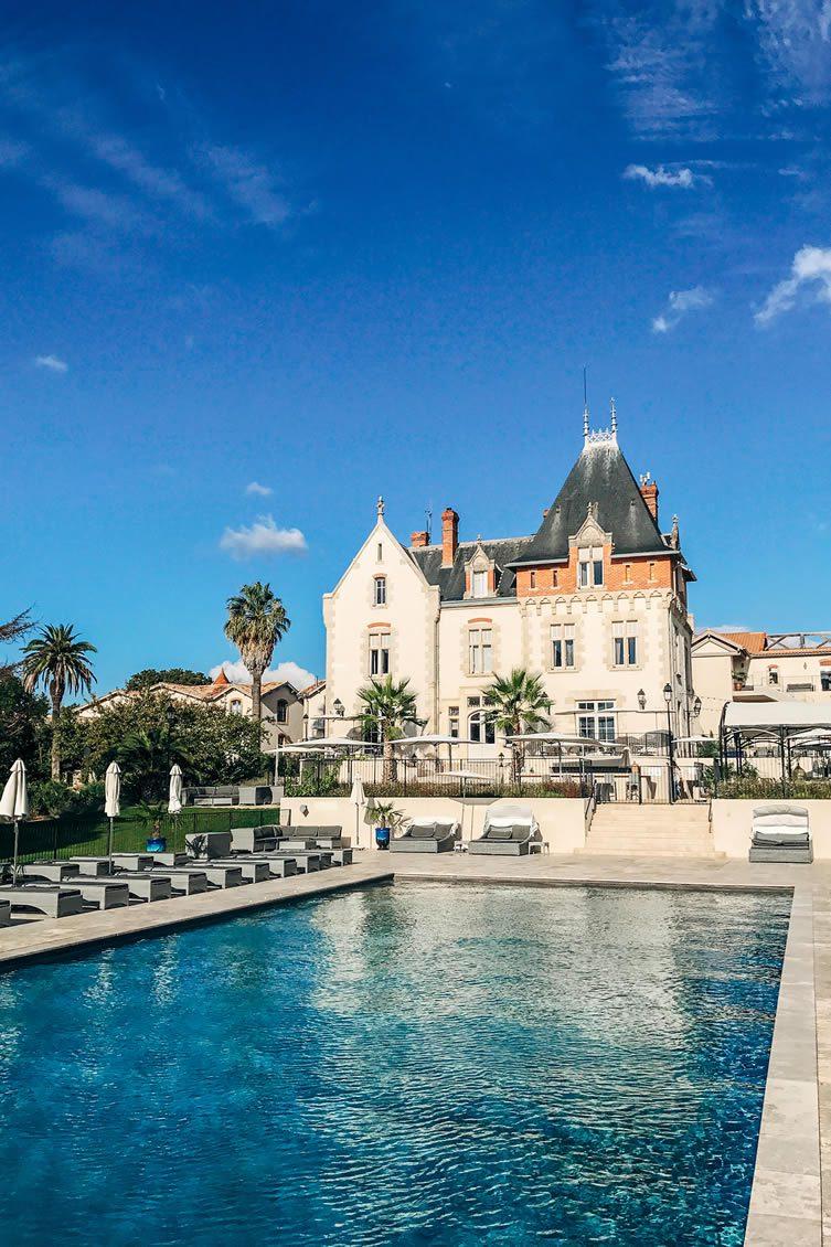 Chateau St Pierre de Serjac Languedoc-Roussillon France