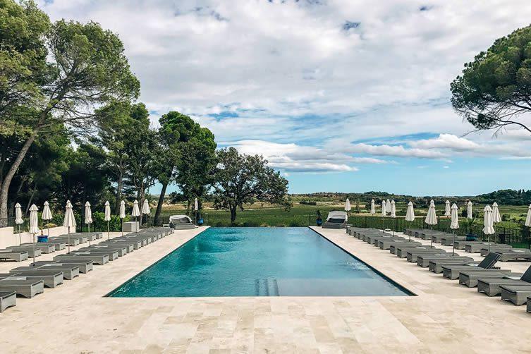 Chateau St Pierre de Serjac Languedoc