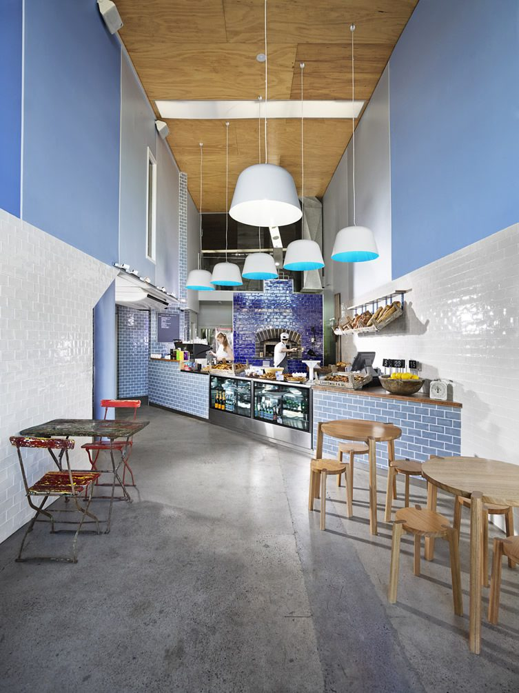 Restaurant Interior Design Brisbane : Chester street bakery bar — brisbane