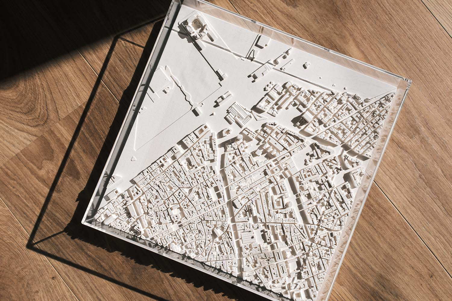 Chisel & Mouse Cityscapes Collection, Digital Handmade Architectural Sculptures