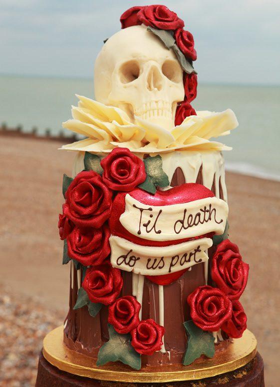 Large Chocolate Wedding Cake London