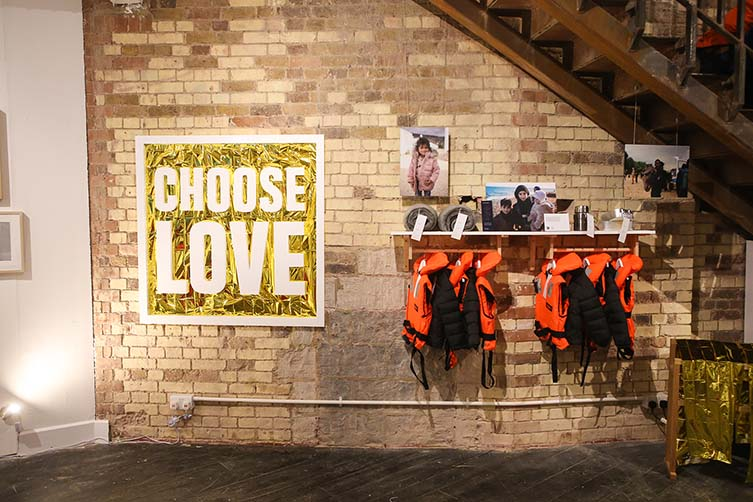 Choose Love Pop-Up, Carnaby London, Help Refugees Christmas Pop-Up