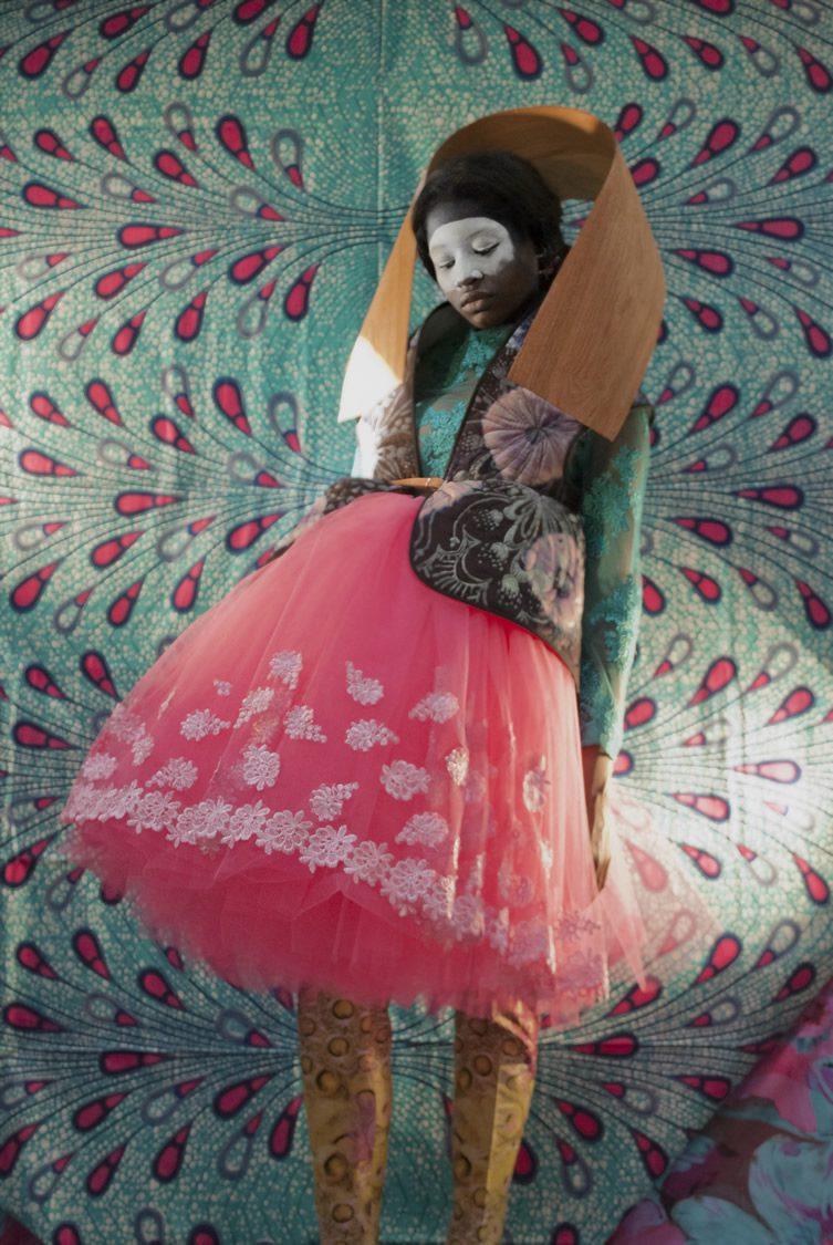 Christa van der Meer — BACK STAGE ON STAGE at Milan Design Week 2014