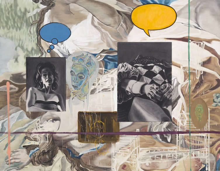 David Salle (b.1952) Backdrop