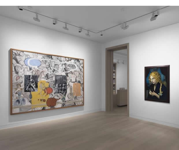 Cindy Sherman and David Salle, History Portraits and Tapestry Paintings