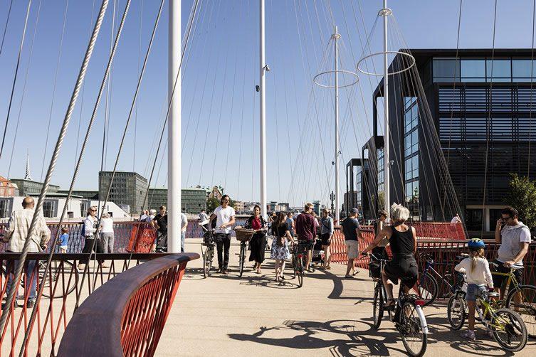 Olafur Eliasson, Cirkelbroen Bridge, Copenhagen