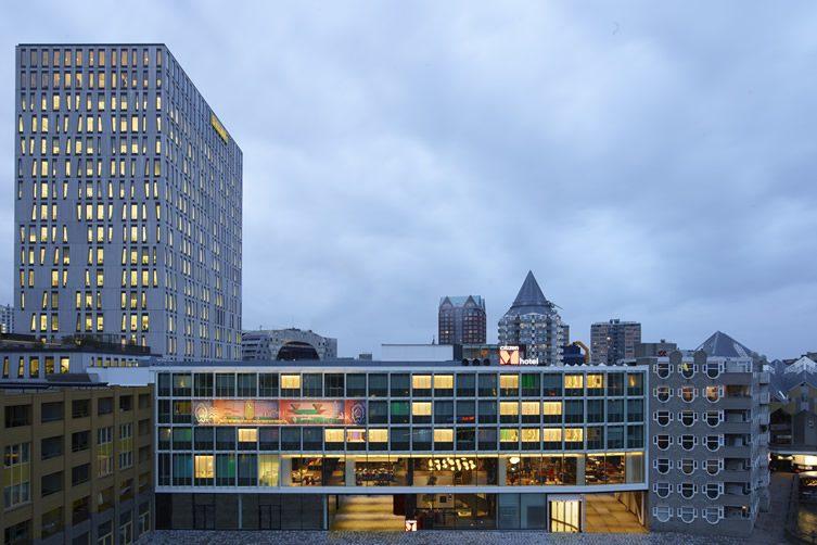 Citizenm hotel rotterdam for Designhotel rotterdam