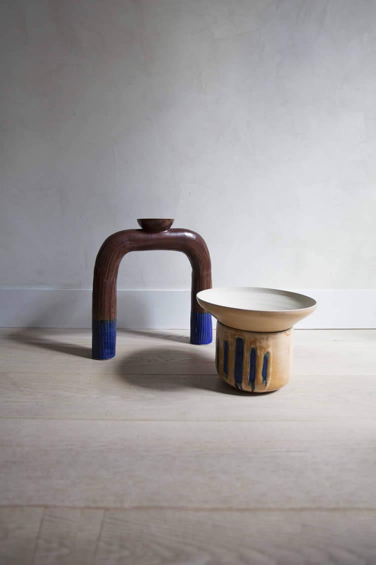 Claudia Cauville, Ornamental Crime Ceramics and Textiles