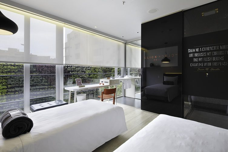 Click clack hotel bogot colombia for Luxury hotel bogota
