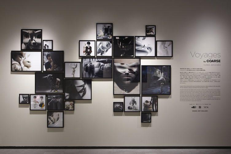 coarse — Voyages at Diesel Art Gallery, Tokyo