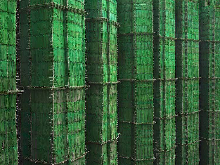 Green Cocoon Walls, Hong Kong, 2010