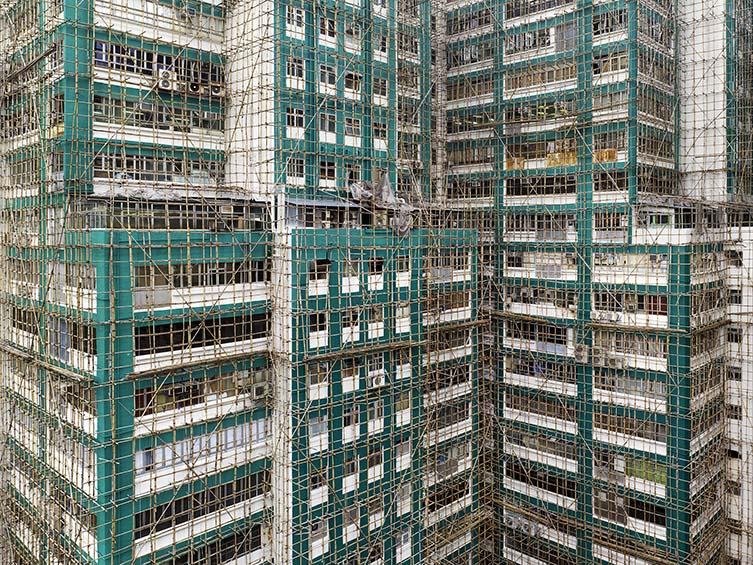 Aqua Cocoon Cage #2, Hong Kong, 2012