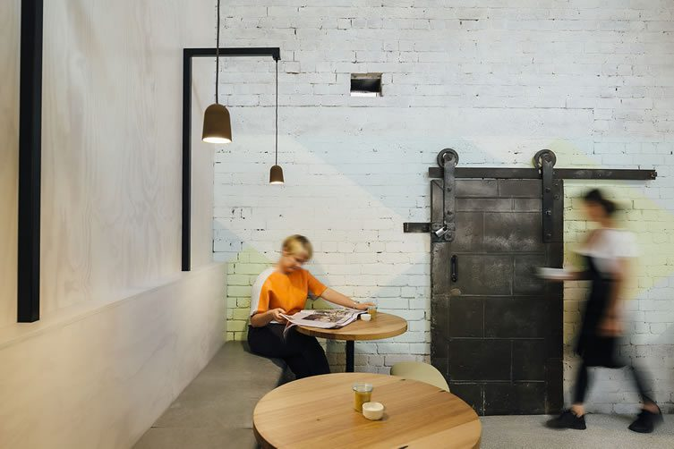 Code Black Coffee 119 Howard Street Cafe, Melbourne