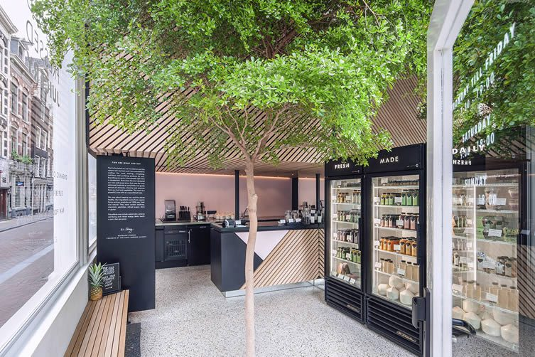 The Cold Pressed Juicery Amsterdam