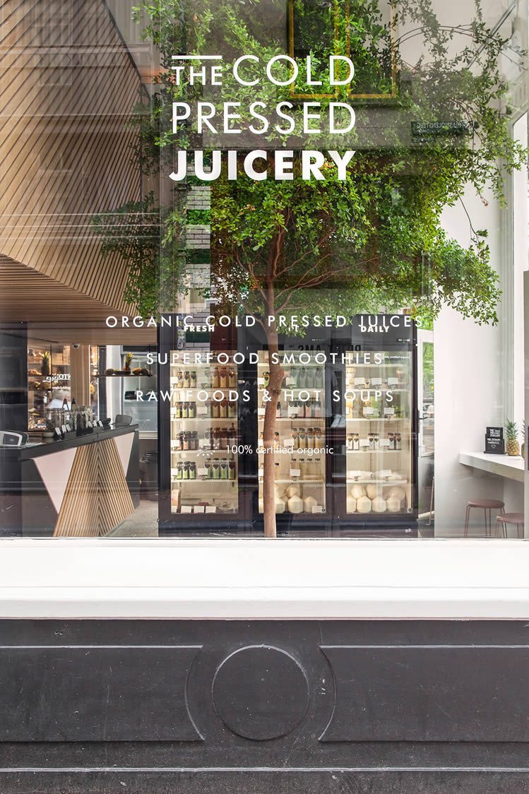 The Cold Pressed Juicery Amsterdam Herengracht and Gasthuismolensteeg