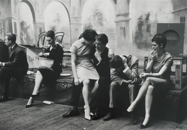 Covent Garden Opera House, Royal Ballet party on stage, 1961