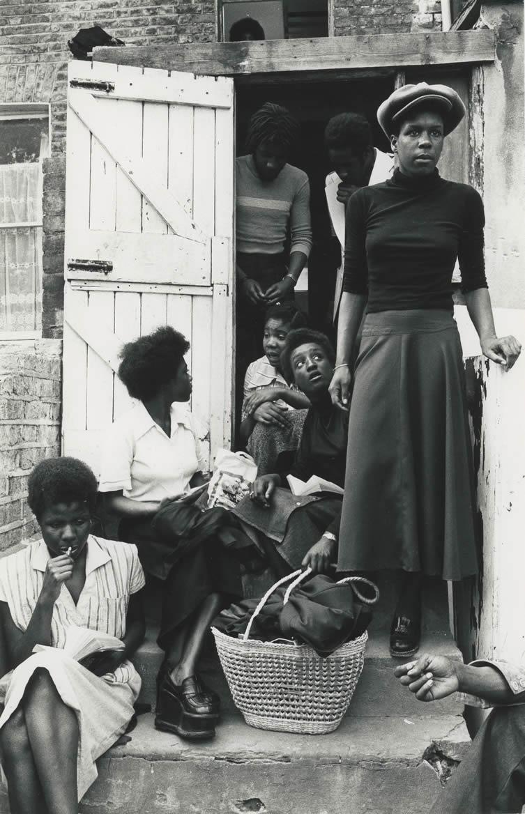 London, Black House, Holloway Road, 1976