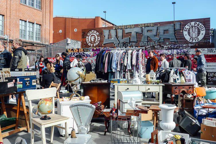 Hamburg Flea Market