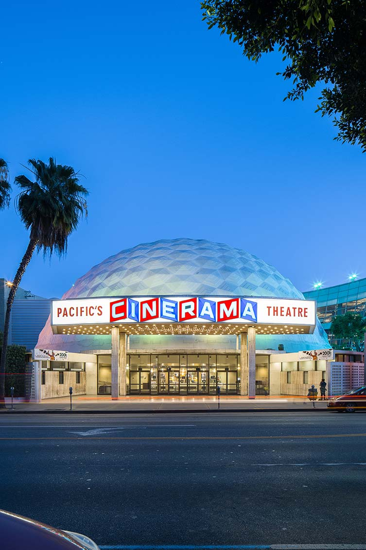 Cinerama Dome by Welton Becket & Associates