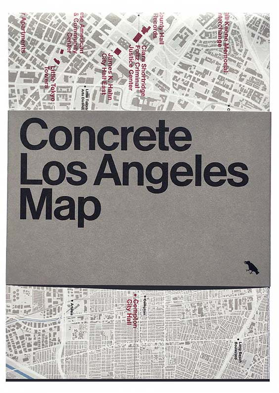 Concrete Architecture Los Angeles Map