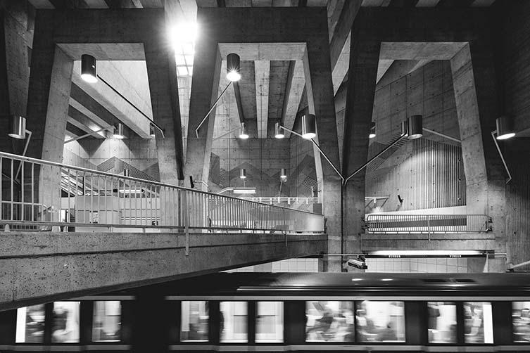 Verdun station by Jean-Marie Dubé