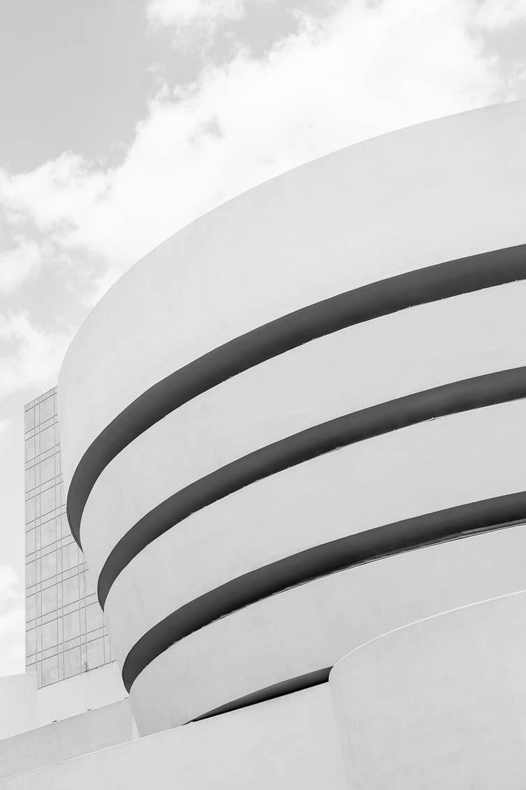 Solomon R. Guggenheim Museum by Frank Lloyd Wright