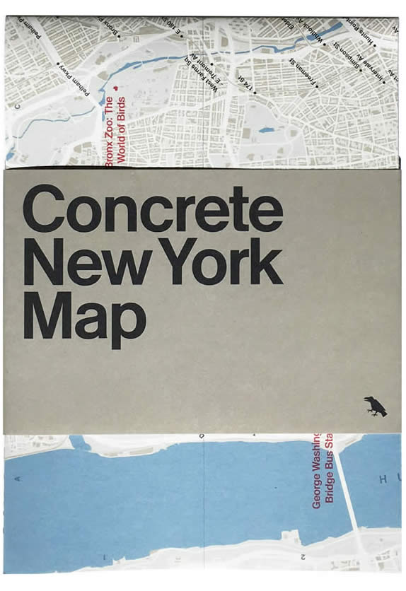 Concrete​ ​New​ ​York​ ​Map​ by Blue​ ​Crow​ ​Media w/ Allison C. Meier and Jason Woods