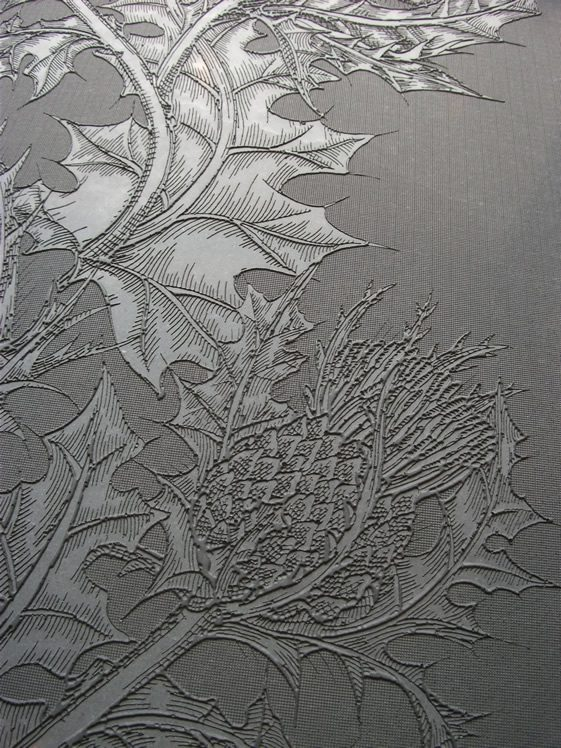 Design Geekery; Concrete Thistle