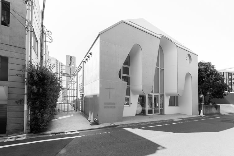 Harajuku Protestant Church by Ciel Rouge Creation