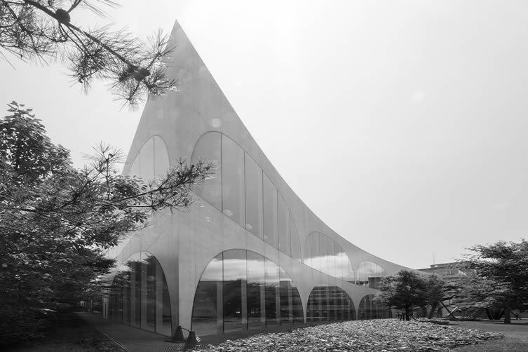 Tama Art University Library by Toyo Ito & Associates