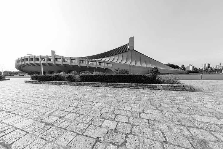 Yoyogi National Gymnasium by Kenzo Tange