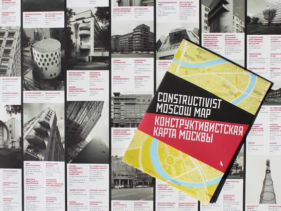 The ​Constructivist Mosco​w Map by Blue Crow Media