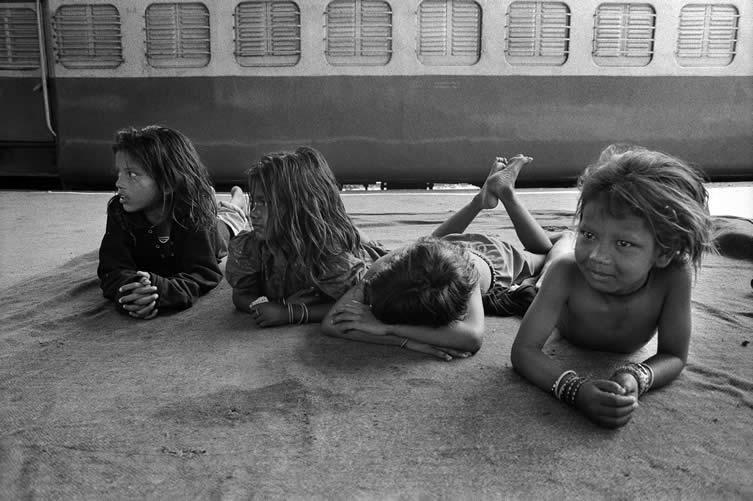Vicky Roy (Delhi, India), Beggars