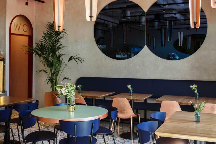Cooker's Gourmet Cafe Moscow, Kuznetsky Most Café Bistro