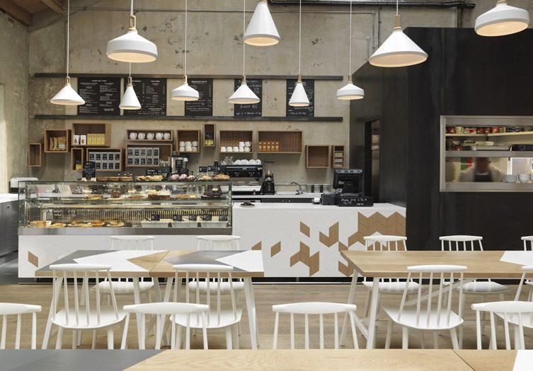 Cornerstone Café — Royal Arsenal, London