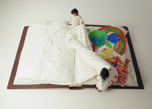 Yusuke Suzuki Book Bed