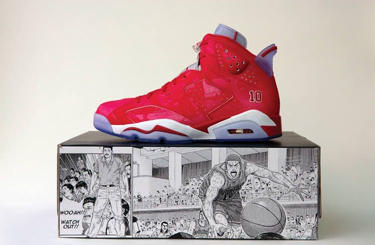 Nike Air Jordan 6 Retro Slam Dunk ©Jérémie SOUTEYRAT.