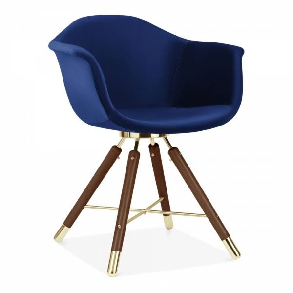 Blue Velvet CD5 Moda Armchair