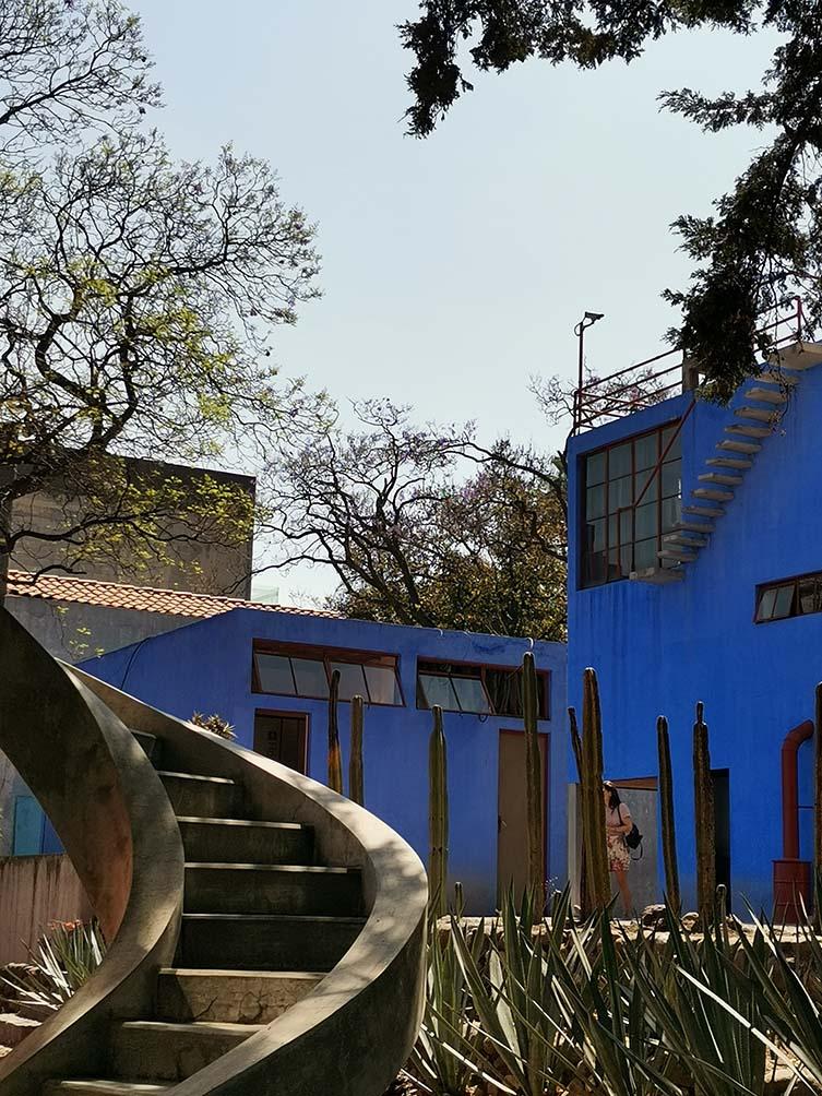 Casa Azul. Mexico City, Mexico