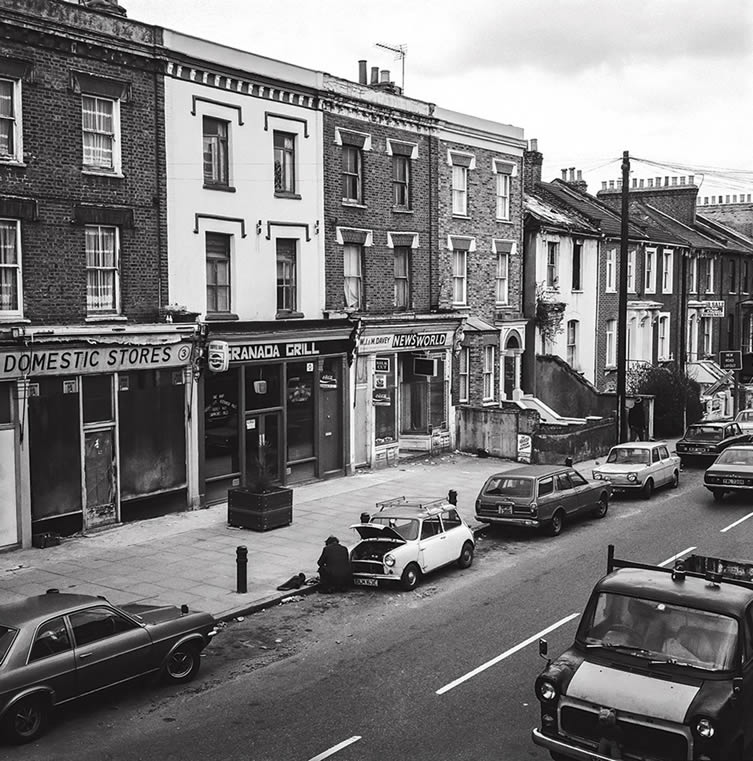 Dalston in the 1980s