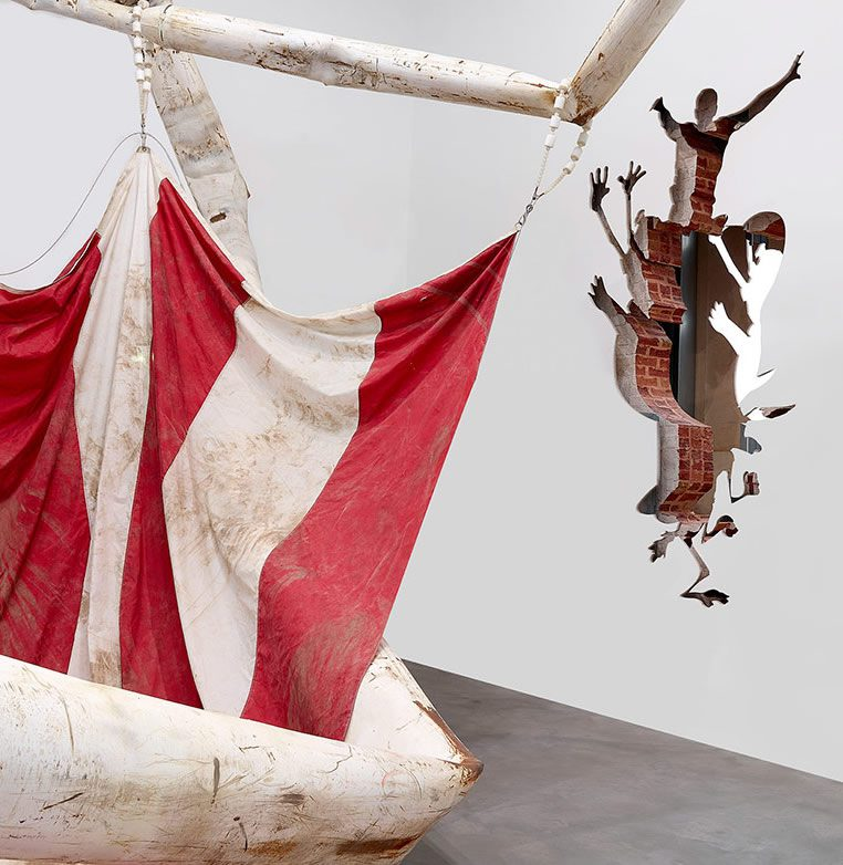 Dan Colen, Sweet Liberty at Newport Street Gallery London