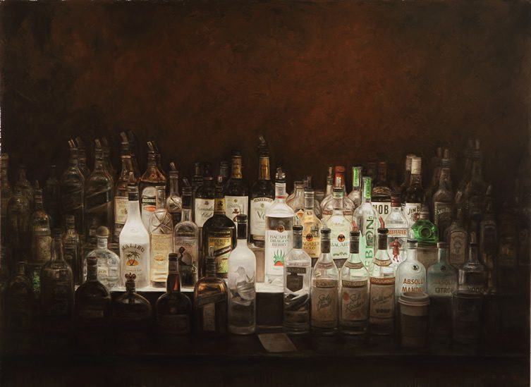 Bar Shrines, Lamps and other Paintings of Light