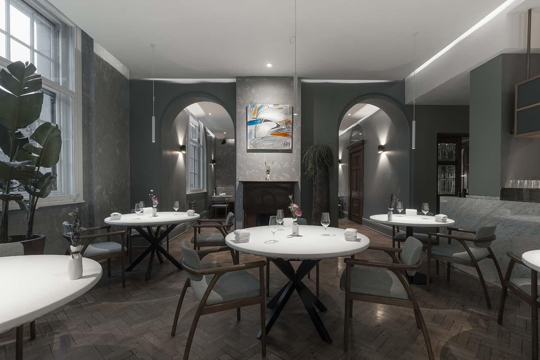 Da Terra London, Michelin Star Restaurant by Rafael Cagali and Paulo Airaudo at Town Hall Hotel