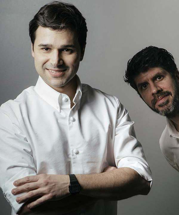 Rafael Cagali and Paulo Airaudo