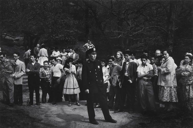 Drowning Scene, Central Park, New York City, 1957