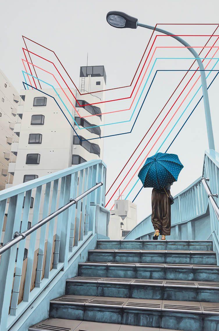 David Rice, Last Day in Tokyo, 2018