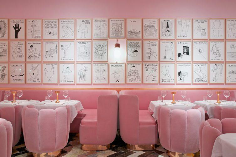 David Shrigley at Sketch Restaurant — London