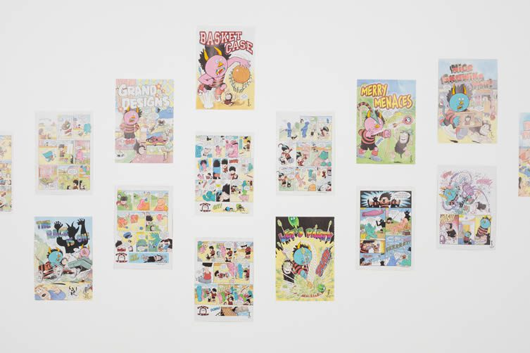 DCA Thomson Comics Exhibition