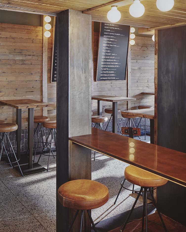 Amsterdam West Craft Beer Bar designed by Studio Modijefsky